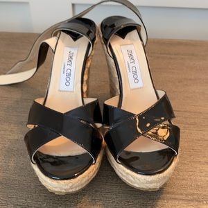 Jimmy Choo Wedge Sandal 38